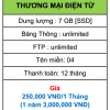 hosting thương mại điện tử