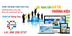 Thiết kế web giá rẻ Thủ Dầu Một