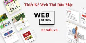 Thiết kế web Thủ Dầu Một Natafu