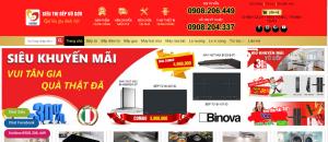 Thiết kế web thương hiệu bán hàng online Bình Dương