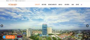 Thiết kế web thương hiệu bất động sản Bình Dương