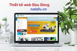 Thiết kế web thương hiệu Bàu Bàng
