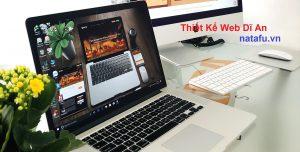 Thiết kế web thương hiệu Dĩ An