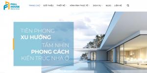 Thiết kế web thương hiệu nội thất Bình Dương