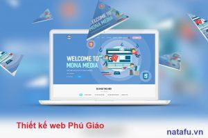 Thiết kế web thương hiệu Phú Giáo