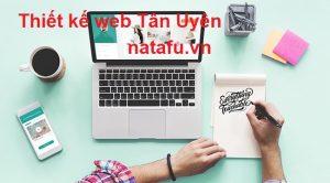 Thiết kế web thương hiệu Tân Uyên