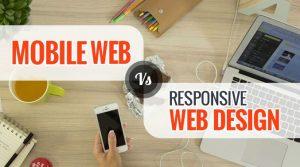 Thiết kế web thương hiệu thân thiện di động