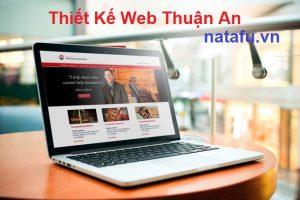Thiết kế web thương hiệu Thuận An