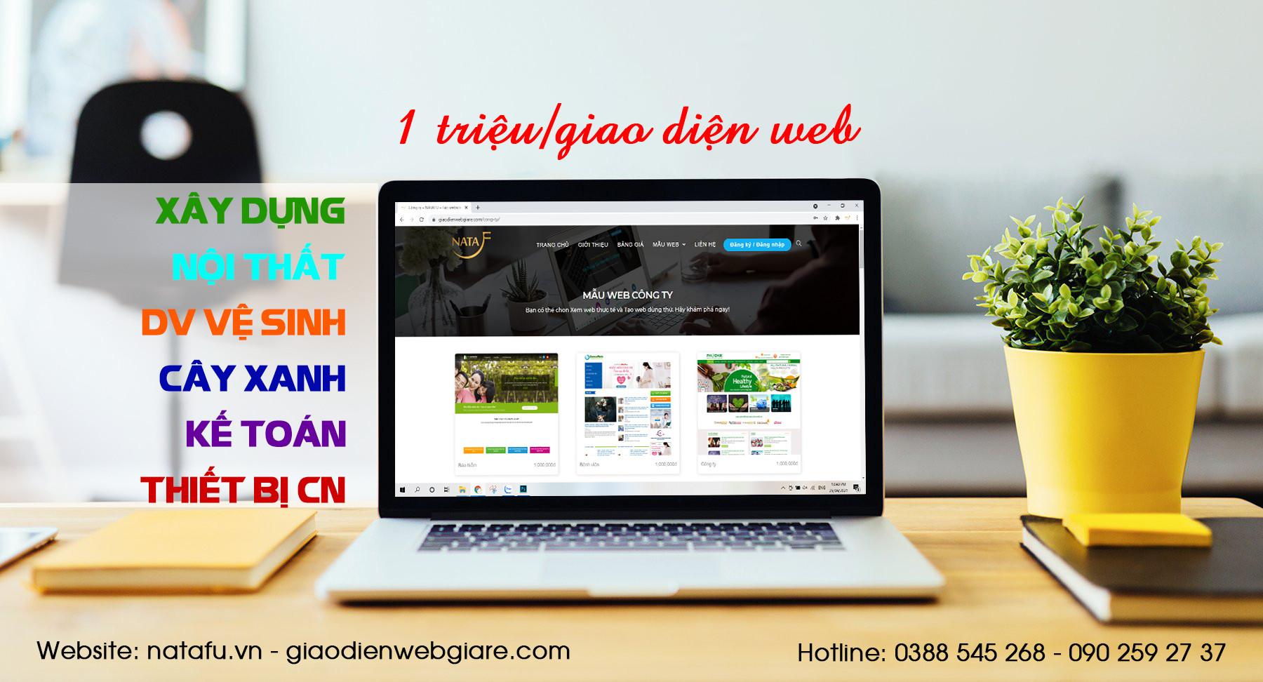 Dịch vụ thiết kế Website tại Vũng Tàu
