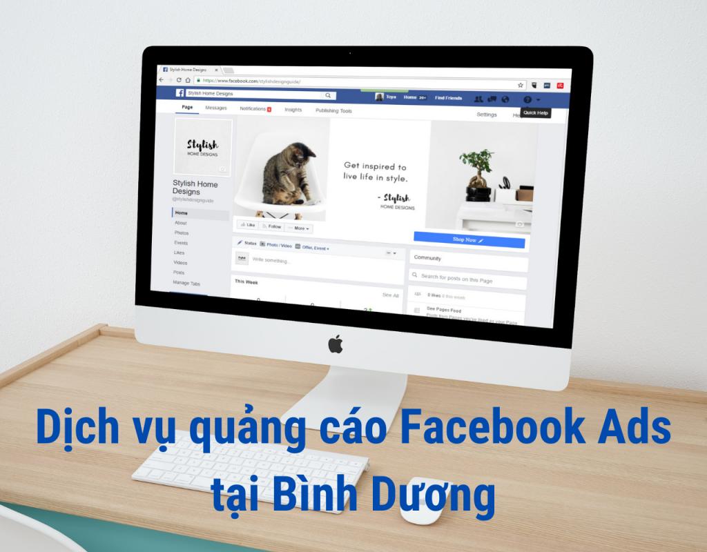 Dịch vụ quảng cáo Facebook Ads Bình Dương