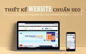 thiết kế trang web chuẩn seo natafu