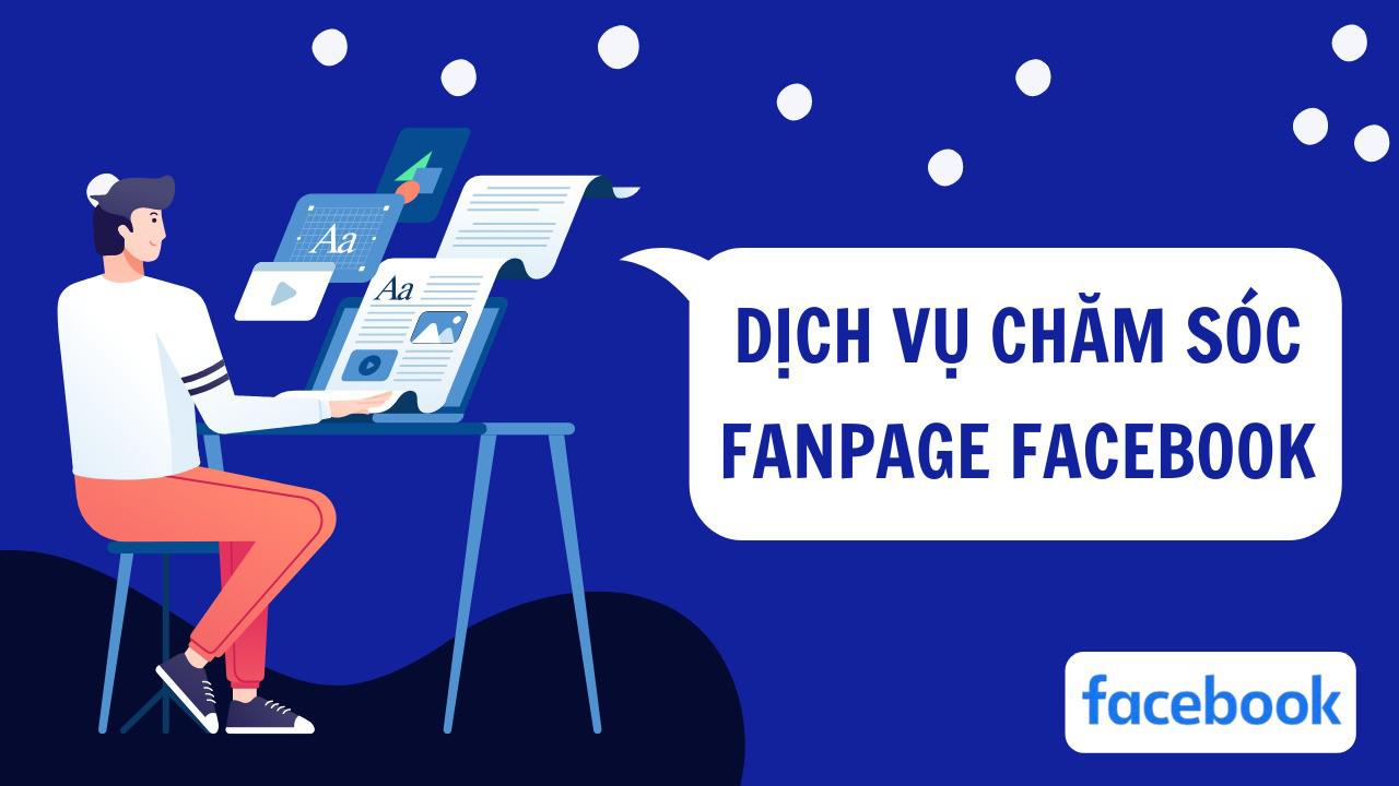Dịch vụ chăm sóc fanpage facebook Bình Dương