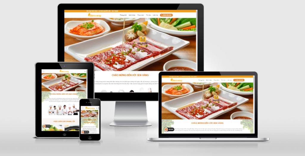 Phát triển website cho nhà hàng của bạn